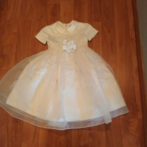 Zoe LTD Girls Dress Flower Girl Formal Tulle